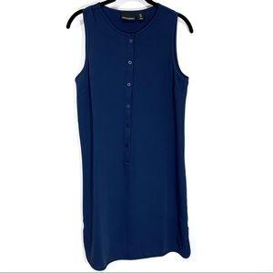 Cynthia Rowley Navy Blue Sleeveless Dress